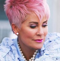 Can older women have colorful hair?